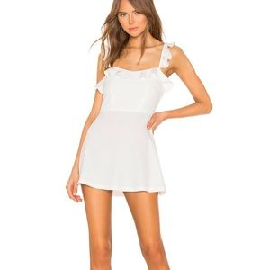 Superdown white dress NWT from Revolve size XS